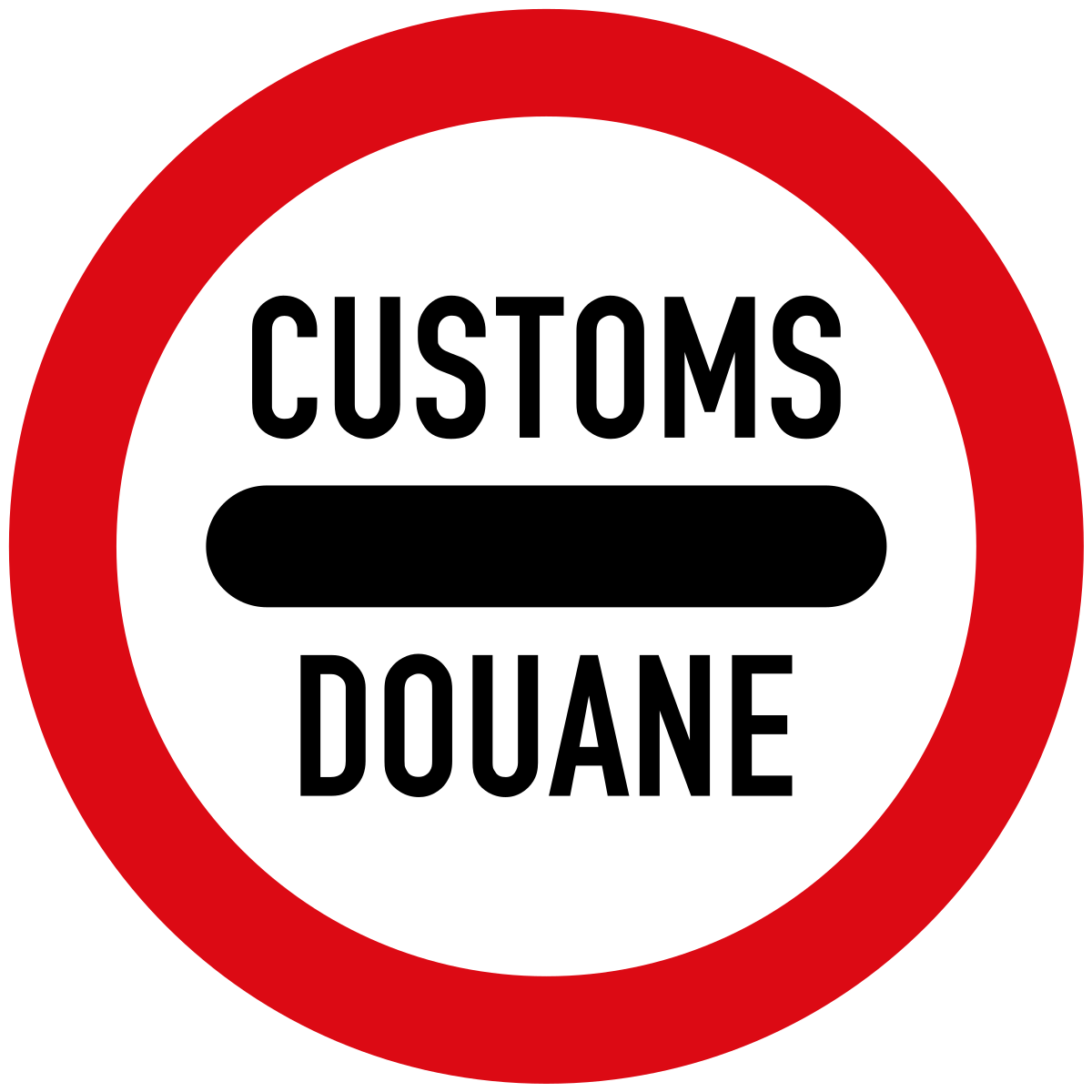 Role of custom authorities