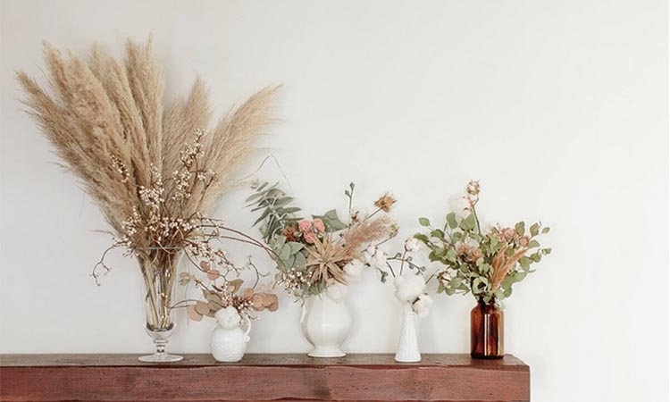 Decorating Your Home with Dried Flower Arrangements