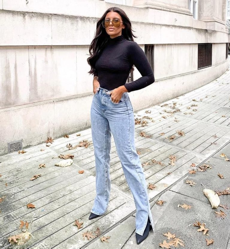 What are some new denim styles after the removal of skinny jeans?