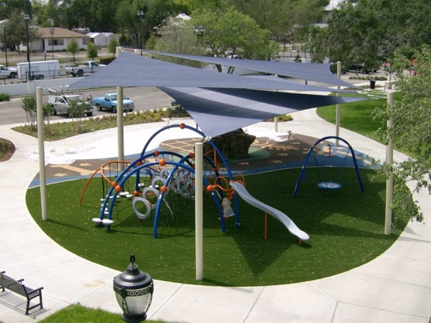 How to Select a Playground Shade Sail for Kids?