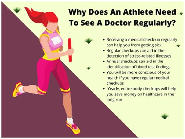Reasons Why A Regular Medical Check Up Matters To Athletes