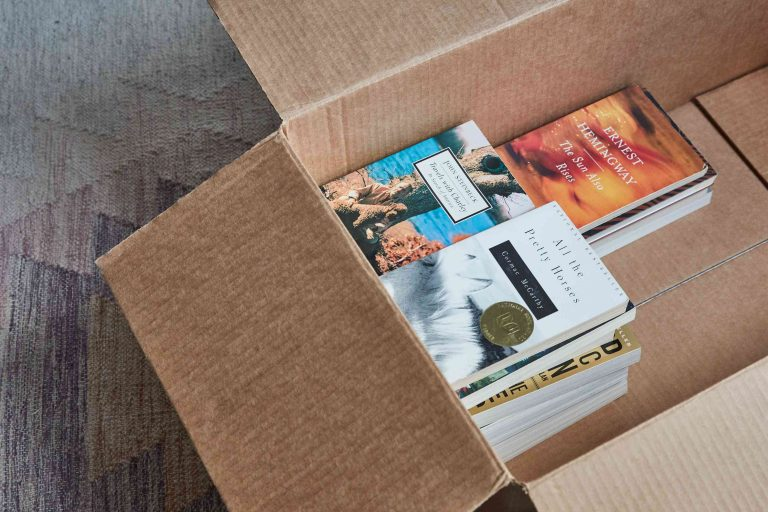 How To Pack, Move & Store Books